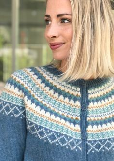 Garnpakke: Gretekofte i Alpakka Forte - Knitting Inna Diana, Men Sweater, Pullover, Denim, Knitting, Crochet, Sweaters, Fashion, Threading