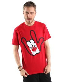 get your pride on Canada Day Shirts, Meanwhile In Canada, I Am Canadian, Urban Planet, Canada Eh, Patriotic Crafts, Red And White, Pride, Mens Fashion