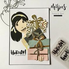 Mail Art Envelopes, Kids Birthday Cards, Mama Elephant, Simon Says Stamp, Punch Art, Lawn Fawn, Hero Arts, Card Making, Bullet Journal