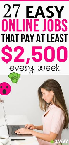 27 Creative Ways To Make Money From Home and Earn Cash On The Side Want to make money online and from home? Check out this list of 27 online jobs that pay every week. Ways To Earn Money, Earn Money From Home, Earn Money Online, Make Money Blogging, Saving Money, Money Fast, Saving Tips, Money Tips, Make Easy Money