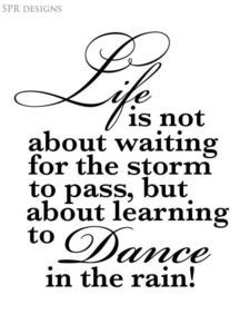 Image of Dancing in the Rain - I have this in my kitchen <3