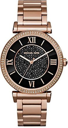 b9141f6b52486 Michael Kors Womens Catlin Watch Rose Gold One Size -- You can get more  details