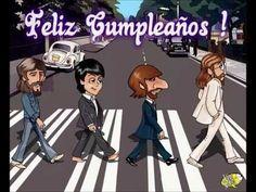 Birthday Greetings, Birthday Wishes, Happy Birthday, Singing Birthday Cards, Mexican Birthday, Anniversary Dinner, Bday Cards, Birthday Board, The Beatles