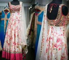 Be a Style Icon this Wedding Season is part of Anarkali dress - Be a style icon this Wedding Season Order these Super Stylish men n women's wears and let every guest talking about you Message us on com with Style No for Prices and… Salwar Designs, Kurta Designs Women, Kurti Designs Party Wear, Dress Designs, Blouse Designs, Long Gown Dress, Saree Dress, Long Dresses, Blue Dresses