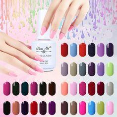 Beau Gel UV Gel Lacquer Nail Salon Professional Vernis Semi Permanent Polish Bling Vernis Nail Gel Polish 15 ml Nail Gelpolish