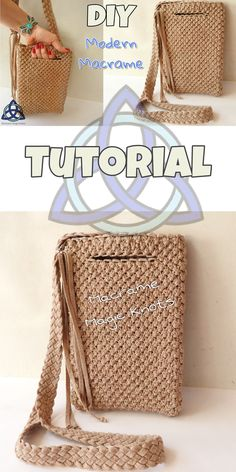 • In this Macrame tutorial video you will see How to make Macrame Bag Tutorial-  Easy Macrame Craft Idea #Macramebag #Howtomakemacramebag #Macramecraft #Craft #Tutorial #Macramebagtutorial #DIYMacramebag #Gift #Pulsera #MacrameMagicKnots
