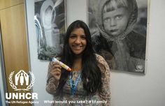 I would take my epi-pen, perhaps not the most emotional thing but it's practical and could save a life. Shivani from the UK - Visit 1family- http://unhcr.org/1family/
