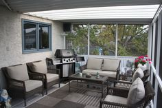 Come see our Screen Rooms at our showroom in Calgary! Our Screen Rooms are made with heavy duty aluminum components with premium finishes that will last. Outdoor Furniture Sets, Outdoor Decor, Calgary, Rooms, Home Decor, Bedrooms, Decoration Home, Coins, Room Decor