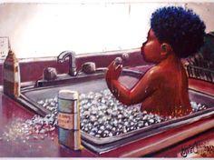 Bubble bath - Lonnie Oliverre