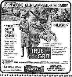 True Grit(1969) 勇気ある追跡 ※7/4/1969,Chicago Tribune