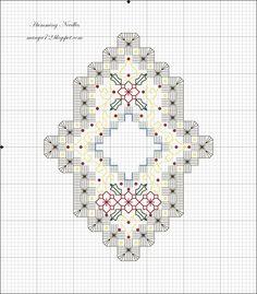 Aghi Humming: motivo, ornamento, Hardanger n ° 4