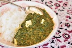 Palak paneer express ou curry indien d'épinard au fromage © Balico and co Korma, Plats Healthy, Indian Food Recipes, Ethnic Recipes, Palak Paneer, Food And Drink, Asian, Vegetables, Eat