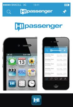#winning #logo #design #app #ios #android #travel #hipassenger