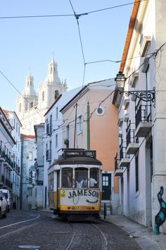 Ride Tram 28 through the Alfama | The Ultimate Lisbon Bucket List: 101 Things to do in Lisbon, Portugal