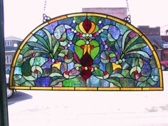 C. H. Valhalla for Stained Glass and More's Arched Stained Glass Collection