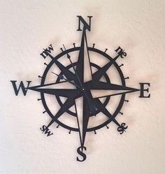 Compass Wall Clock                                                                                                                                                                                 More