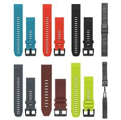 GPS and Running Watches 75230: Garmin Quickfit™ 22 Replacement Watch Bands For Fenix 5 And Forerunner 935 -> BUY IT NOW ONLY: $159.99 on eBay!