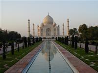 Opleve Taj Mahal i Indien, Agra