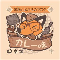 Mamesen kitsune character on Behance