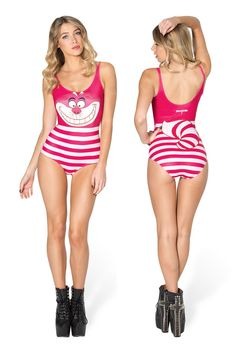 We're All Mad Here Swimsuit by Black Milk Clothing $100AUD