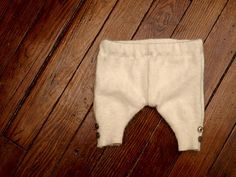 Baby Sweater Pants Tutorial from This Little Miggy Stayed Home