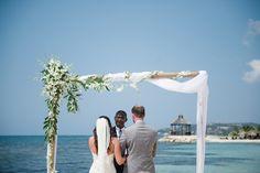 Romantic destination wedding at Secrets Wild Orchid Resort Montego Bay: http://www.stylemepretty.com/destination-weddings/2015/12/18/romantic-destination-wedding-at-secrets-wild-orchid-resort-montego-bay/ | Tracey Jazmin - http://www.traceyjazmin.com/