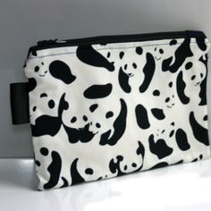 Panda land pencil case/ make up bag www.pandathings.com