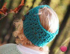 "Haarband. ""Tiffany""  by Pinkyboo. auf DaWanda.com"