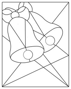 Easy Stained Glass Patterns | stained glass patterns for free: A couple of stained glass christmass ...