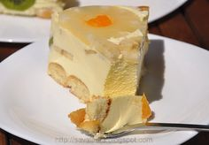 Tort Diplomat   Retete culinare cu Laura Sava Just Desserts, Cheesecake, Cooking Recipes, Pudding, Cookies, Sweet, Martha Stewart, Delicious Food, Pies