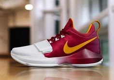 An official look at the Nike PG 1 Hickory PE for ygtrece Sports Footwear, Sports Shoes, Basketball Shoes, Me Too Shoes, Crazy Shoes, Paul George Shoes, Nike Presents, Indiana, Moda Masculina