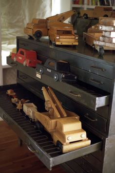 The Collection: Vintage Creative Playthings | Living Blog (I love wooden toys- this just proves they last... I could do with no plastic toys in my house)