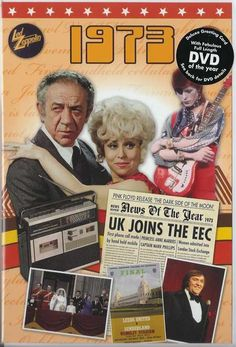 1. 40th Ruby Wedding Anniversary DVD and Greeting Card in one; A Time of your Life -1973, £9.49