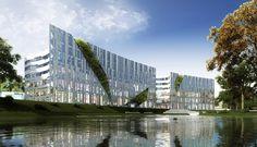 Kö-Bogen . Düsseldorf / Stills / 2010 . CADMAN . The World of Real Estate Marketing