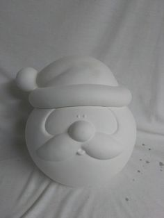 Glazed Inside Ready to Paint Sm Round Butterfly Container 4 x 3 1//4 Ceramic Bisque