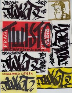 .// Twist .// Barry McGee
