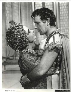 "Elizabeth Taylor Richard Burton in ""Cleopatra"" Original Vintage Photo 1963   eBay"