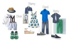 """Look 5 A. Family"" by sgaffney on Polyvore featuring Gap, Columbia, Converse, Vans, BZIPPY & CO. and Boden"