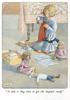 Honor Appleton - from ''Josephine and her Dolls'' | Flickr