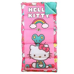 Disney Hello Kitty Sleeping Bag ** Be sure to check out this awesome product. (This is an affiliate link) Sequoia National Park Camping, Hello Kitty Clothes, Kids Sleeping Bags, Sanrio Hello Kitty, Camping Equipment, Tent Camping, Camping Cabins, Sleepover, Disney