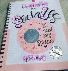 Bullet Journal School, Decorate Notebook, School Notes, Craft Items, Banner, Doodles, Stranger Things, Letters, Words