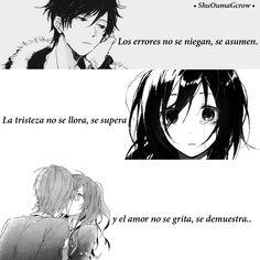 10 Mejores Imagenes De Frases De Amor Anime Anime Love Kawaii