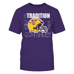 LSU Tiger Football - The Tradition Continues