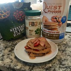 high protein quest pancakes - competition prep diet ideas