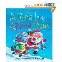 Great new Christmas tradition! Underpants! The aliens are excited, For tomorrow's Christmas Day, So instead of stealing underpants,   They're giving them away! Aliens love underpants! But they also love Christmas and Santa Claus. So when Santa's sleigh is broken on Christmas Eve, it's aliens to the rescue!