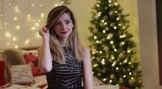 #zoella #zoe sugg #christmas #youtube #video #dress #boots #skirt #jacket #sweater