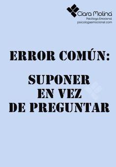 Error común.