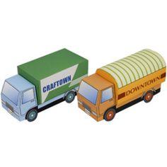Knutselwerkje Bouwplaten vervoer