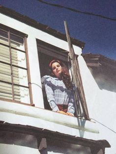 Lana Del Rey in a cottage