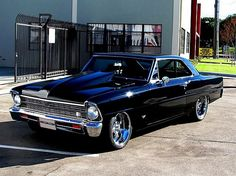 1967 Chevrolet Chevy II Nova PS, The Effective Pictures We Offer You About Classic Cars blue A quality picture can tell you many things. Muscle Cars Vintage, Old Muscle Cars, Chevy Muscle Cars, American Muscle Cars, Vintage Cars, Retro Cars, Chevy Trucks, Pickup Trucks, Chevy Nova
